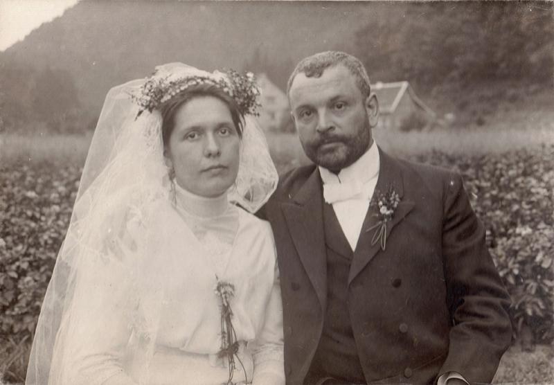 Hochzeitsfoto 1912