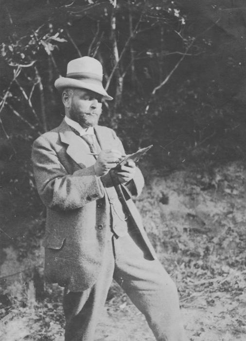 Fotografie aus dem Nachlass Strieffler, um 1910