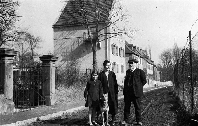 Fotografie aus dem Nachlass Strieffler, um 1928