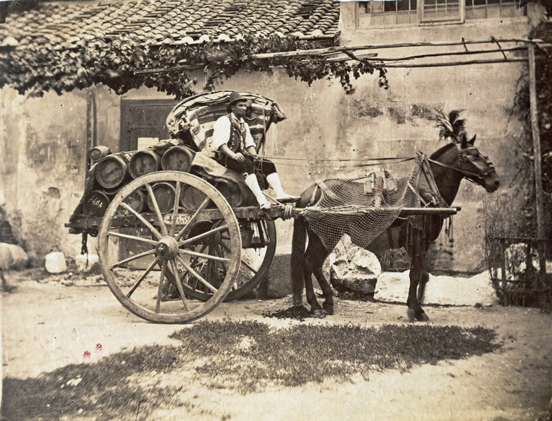 Fotografie aus dem Nachlass Strieffler, 1899