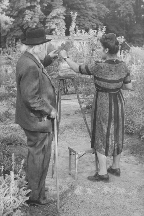 Fotografie aus dem Nachlass Strieffler, um 1945