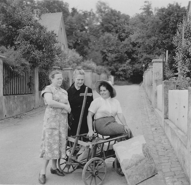 Fotografie aus dem Nachlass Strieffler, 1950er