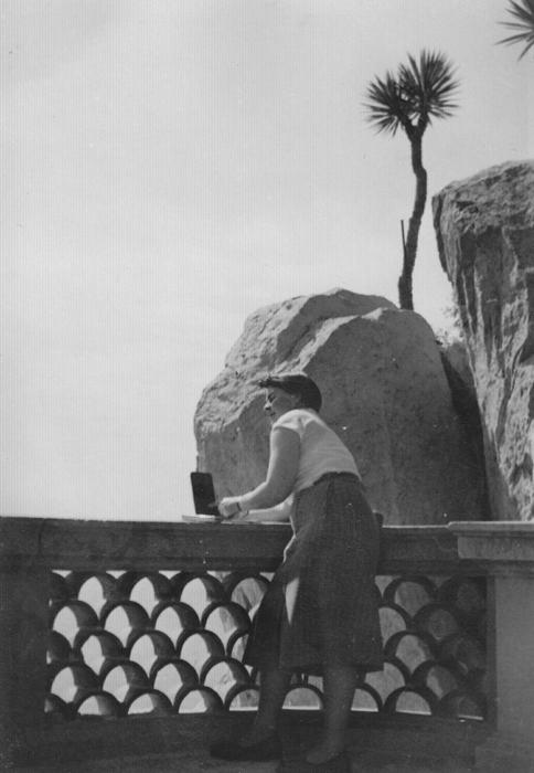 Fotografie aus dem Nachlass Strieffler, 1954