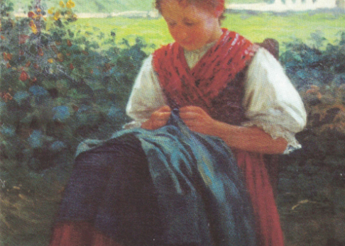 Öl auf Leinwand, 1911