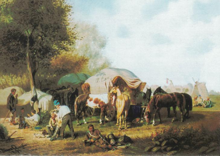 Öl auf Leinwand, 1895