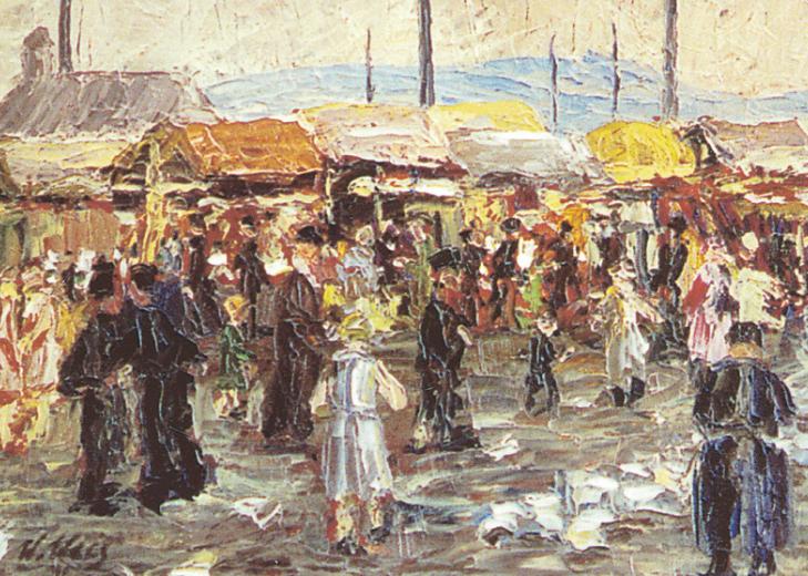 Öl auf Leinwand, 1931